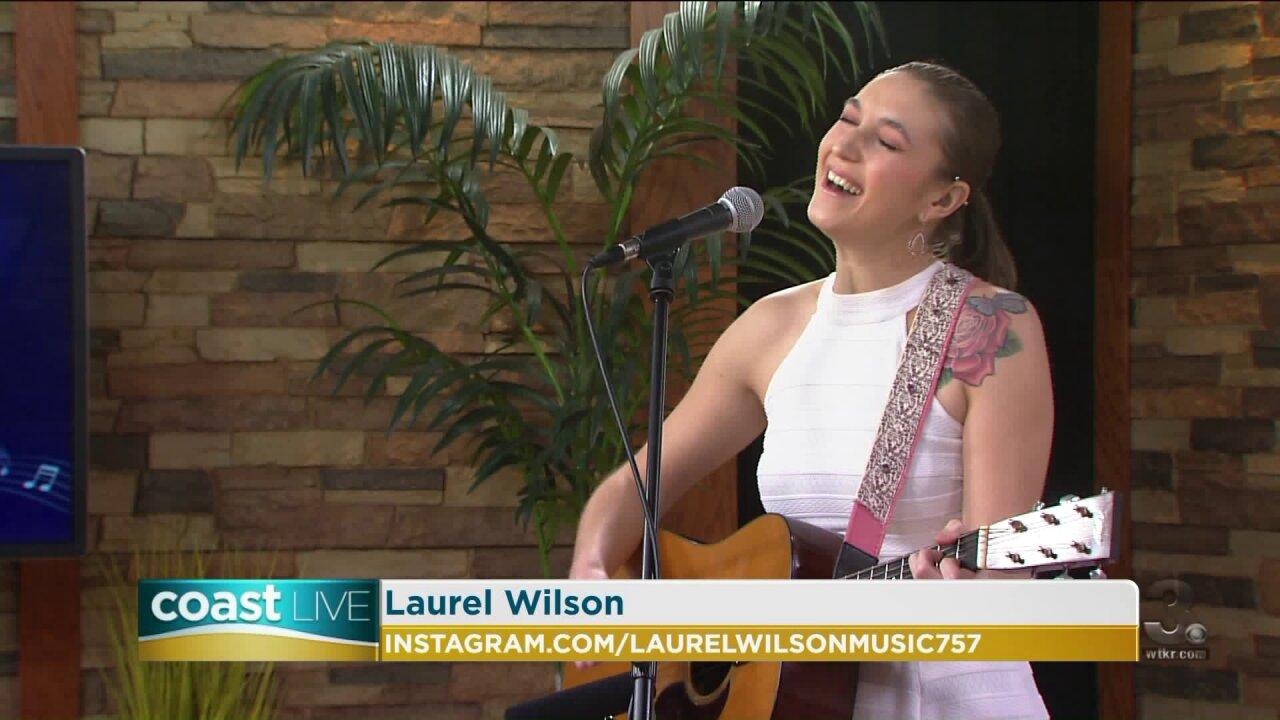 Local music spotlight with Laurel Wilson on CoastLive