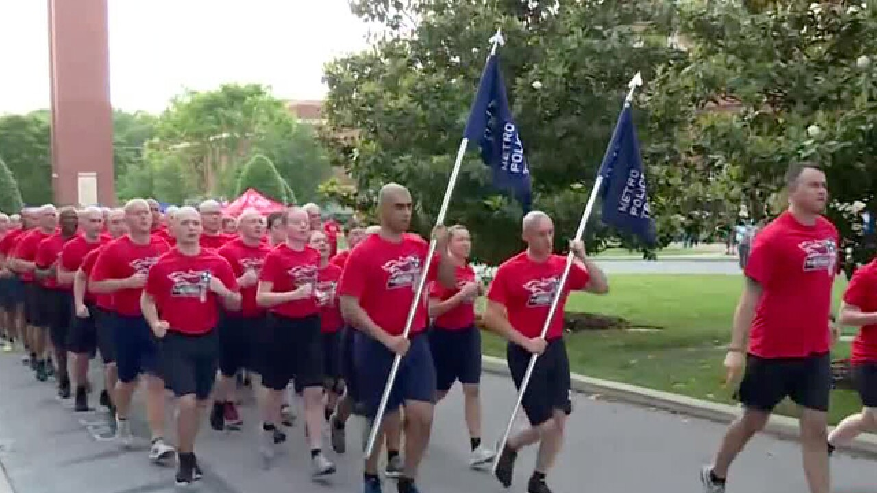 Torch Lit For Special Olympics Tennessee Summer Games