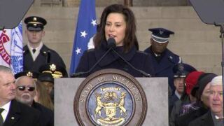 Gretchen Whitmer becomes Michigan's 49th governor