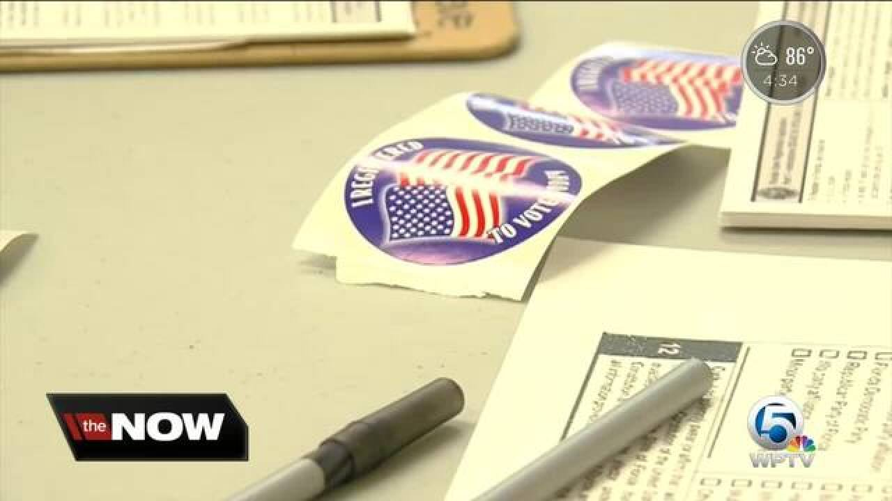 Thousands of Palm Beach County poll workers already training for Election Day