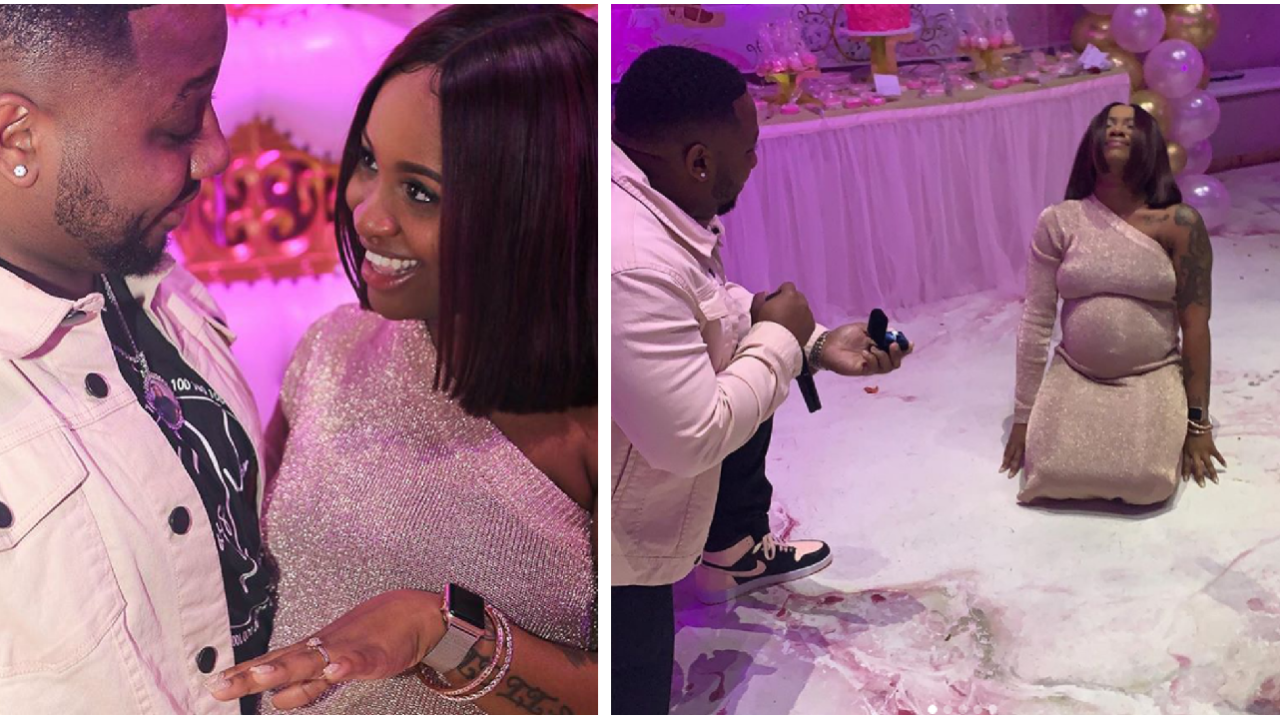 Richmond couple's baby shower surprise proposal goes viral, captures hearts