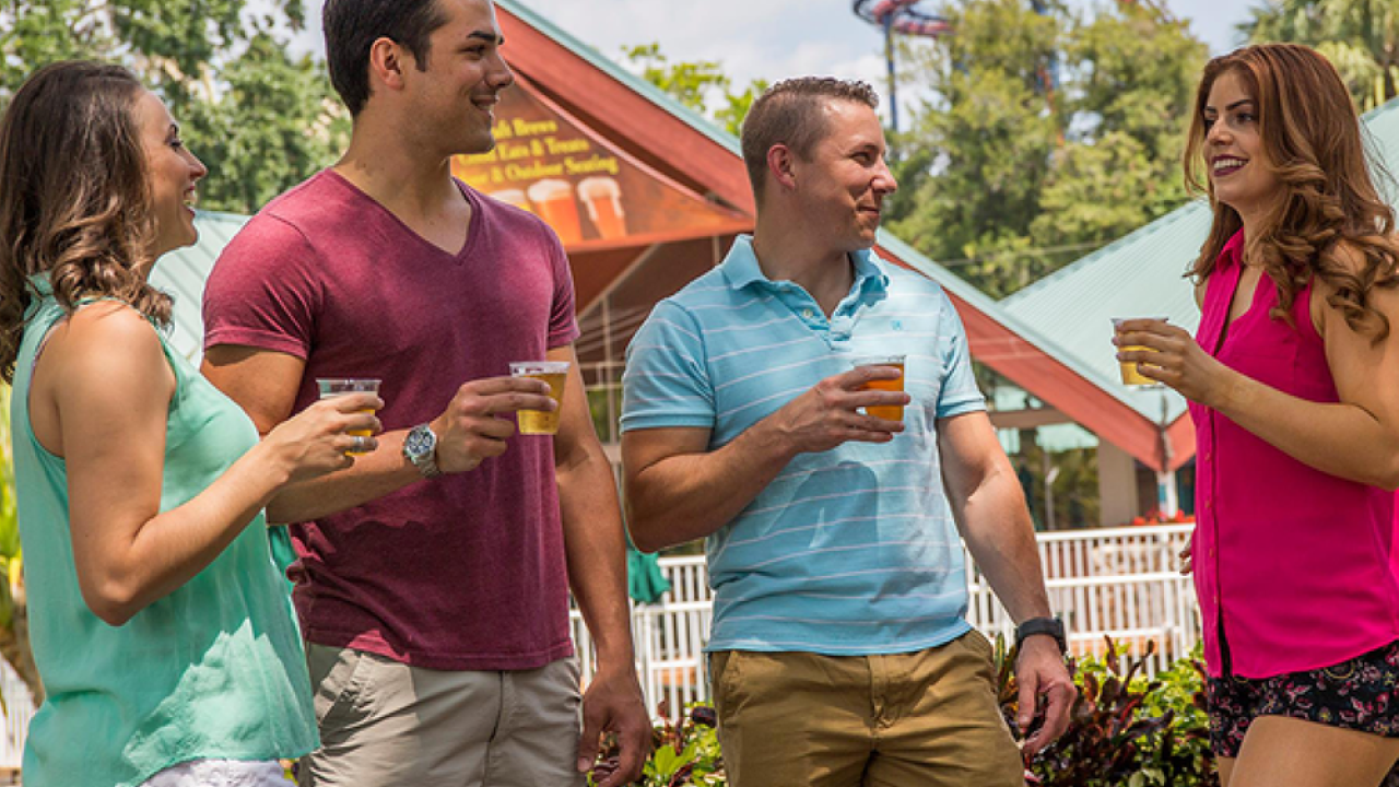 Busch Gardens Tampa Bay is giving away FREE beer in 2019