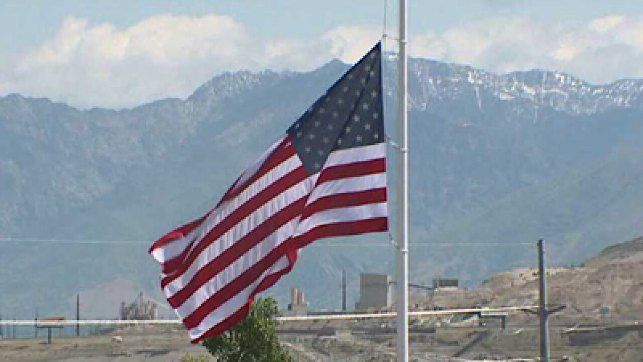 Utahns pay Memorial Day tribute at Camp Williams