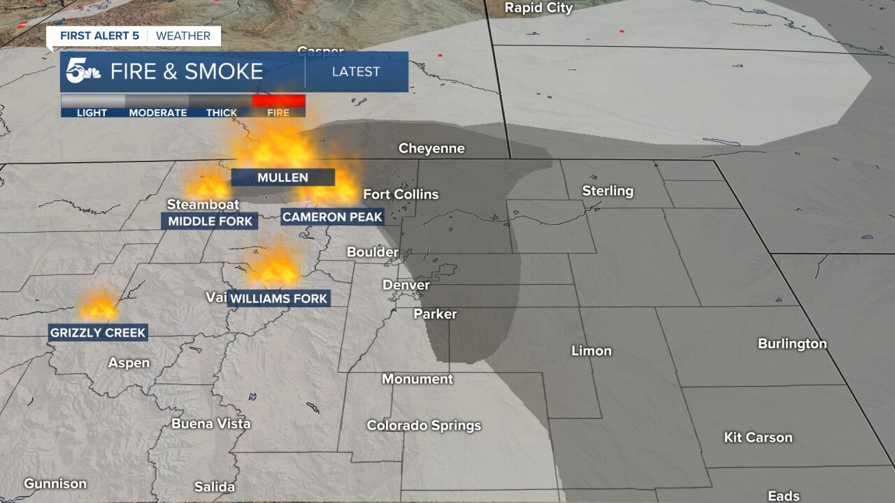Wild Fires and smoke