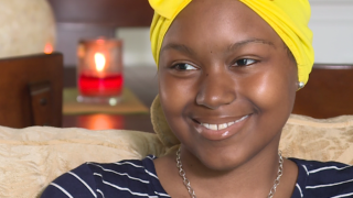 Warrior Princess battling brain cancer achieves 'dream come true'