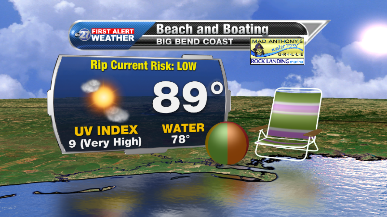 Beach and Boating forecast B (09/18/2017)
