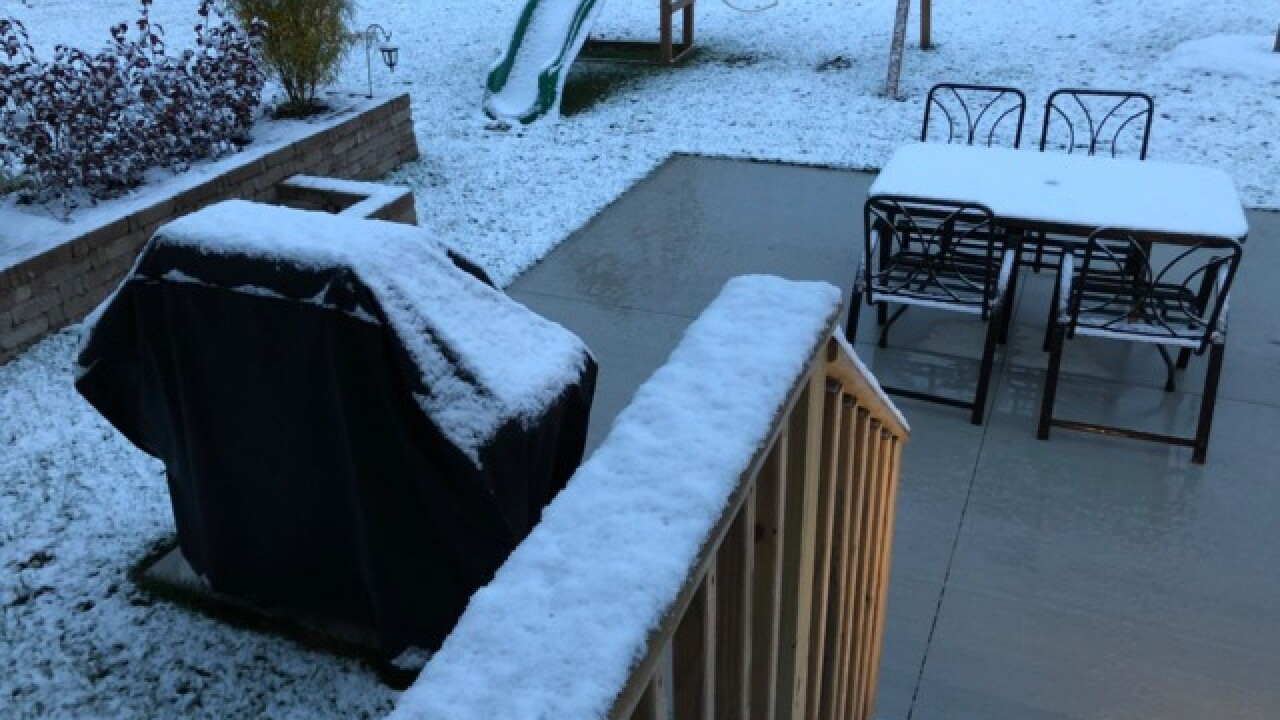 Live blog: First snowfall of the season in NEO