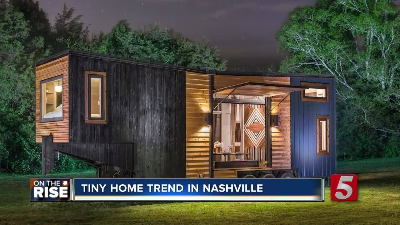 Image result for As Nashville grows bigger 'New Frontier Tiny Homes' is thinking small, building a tiny house hotel
