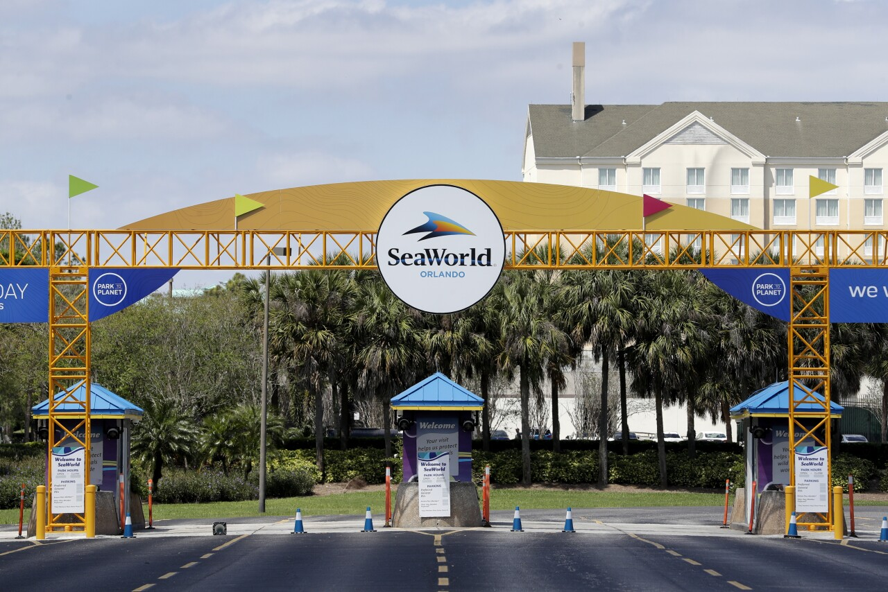 SeaWorld Orlando closed March 2020