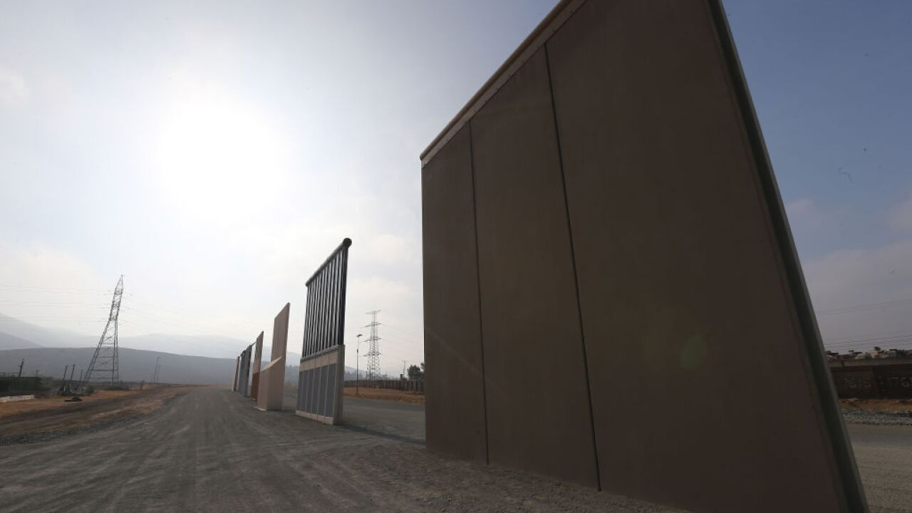 Crews will start tearing down the border wall prototypes today. It cost more than $3 million to build them