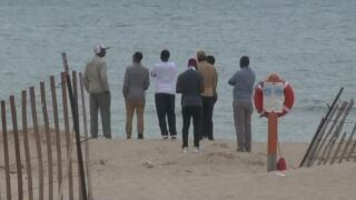 County and Coast Guard crews search Lake Michigan for teen