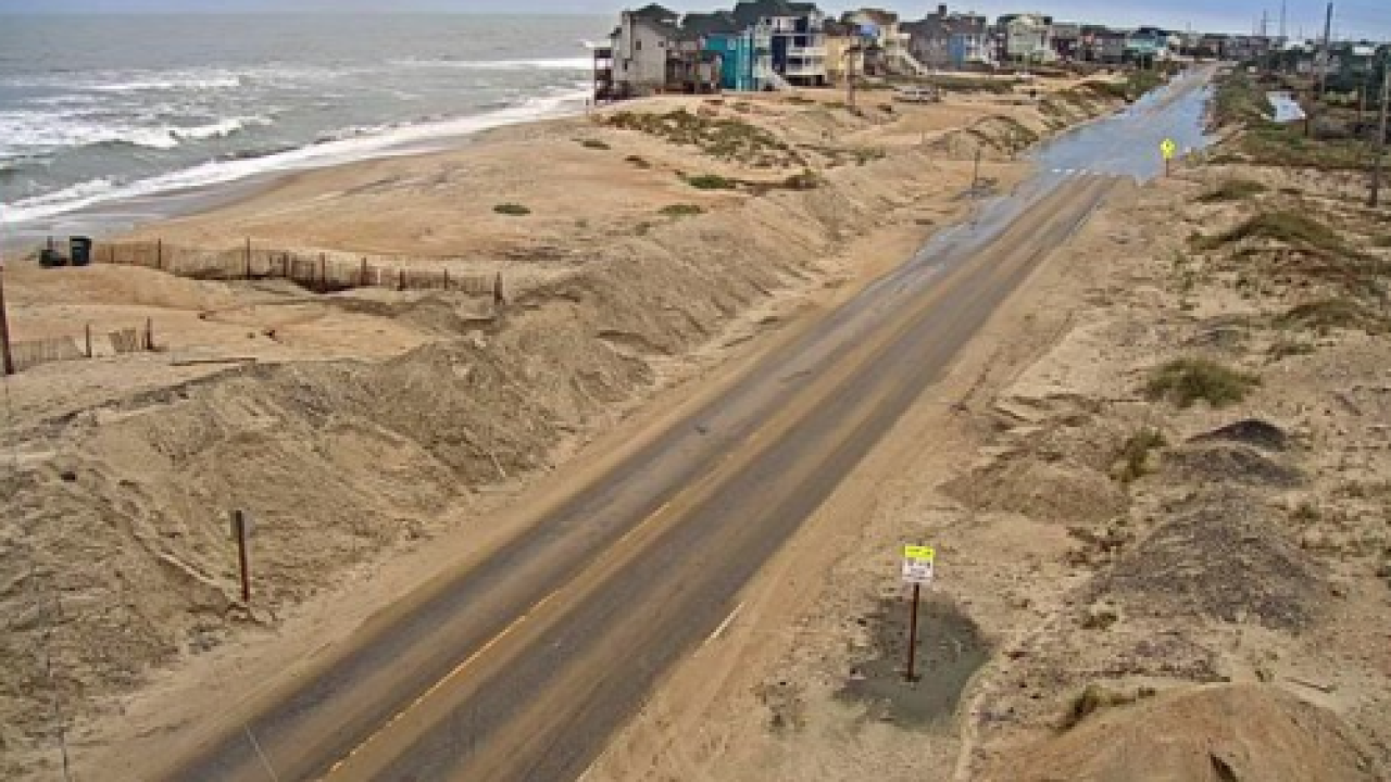 Week-long lane closures expected on N.C. 12 due to dune repairs