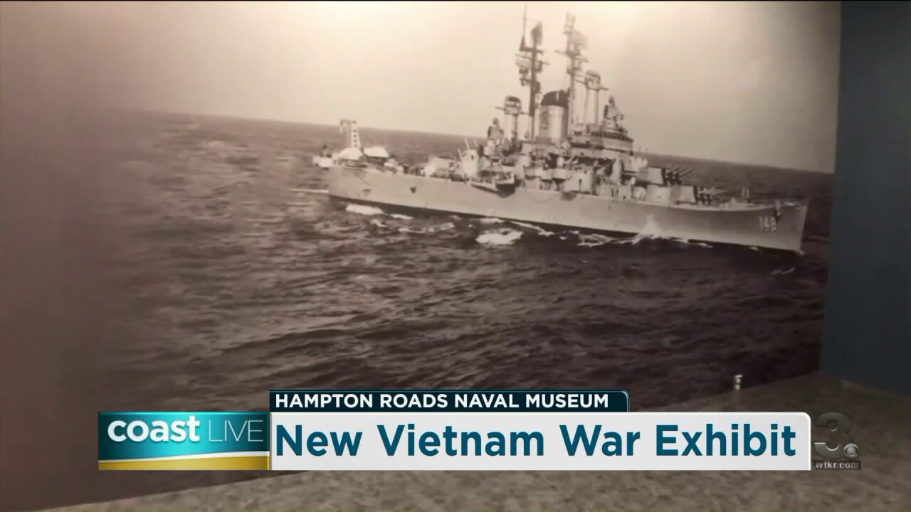A new exhibit commemorating U.S. involvement in the Vietnam War on Coast Live