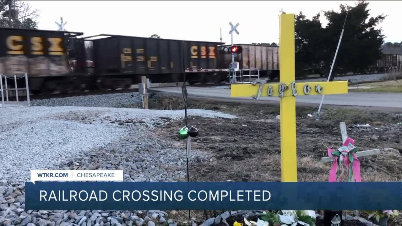 Snowden Street railroad crossing Chesapeake.jpg