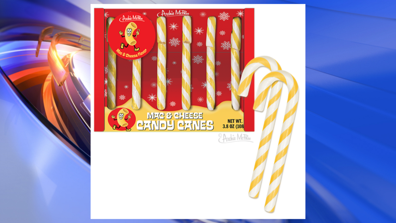 Peppermint who? Store cooks up macaroni and cheese-flavored candy canes