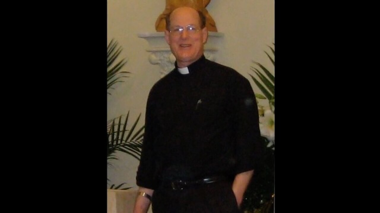 Priest put on leave amid sex abuse allegations