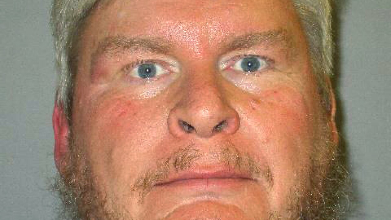 This photo provided by Cochise County, Ariz., Sheriff's Office/Mesa Police Department, shows former Border Patrol agent John Daly III, who was arrested Tuesday, May 4, 2021, in connection with a series of rapes of women in Arizona going back two decades. (Cochise County Sheriff's Office/Mesa Police Department via AP)