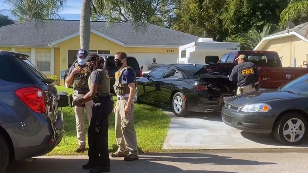 FBI searching home of family of Brian Laundrie