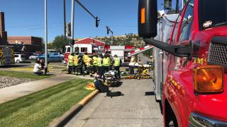 2 injured in Billings crash