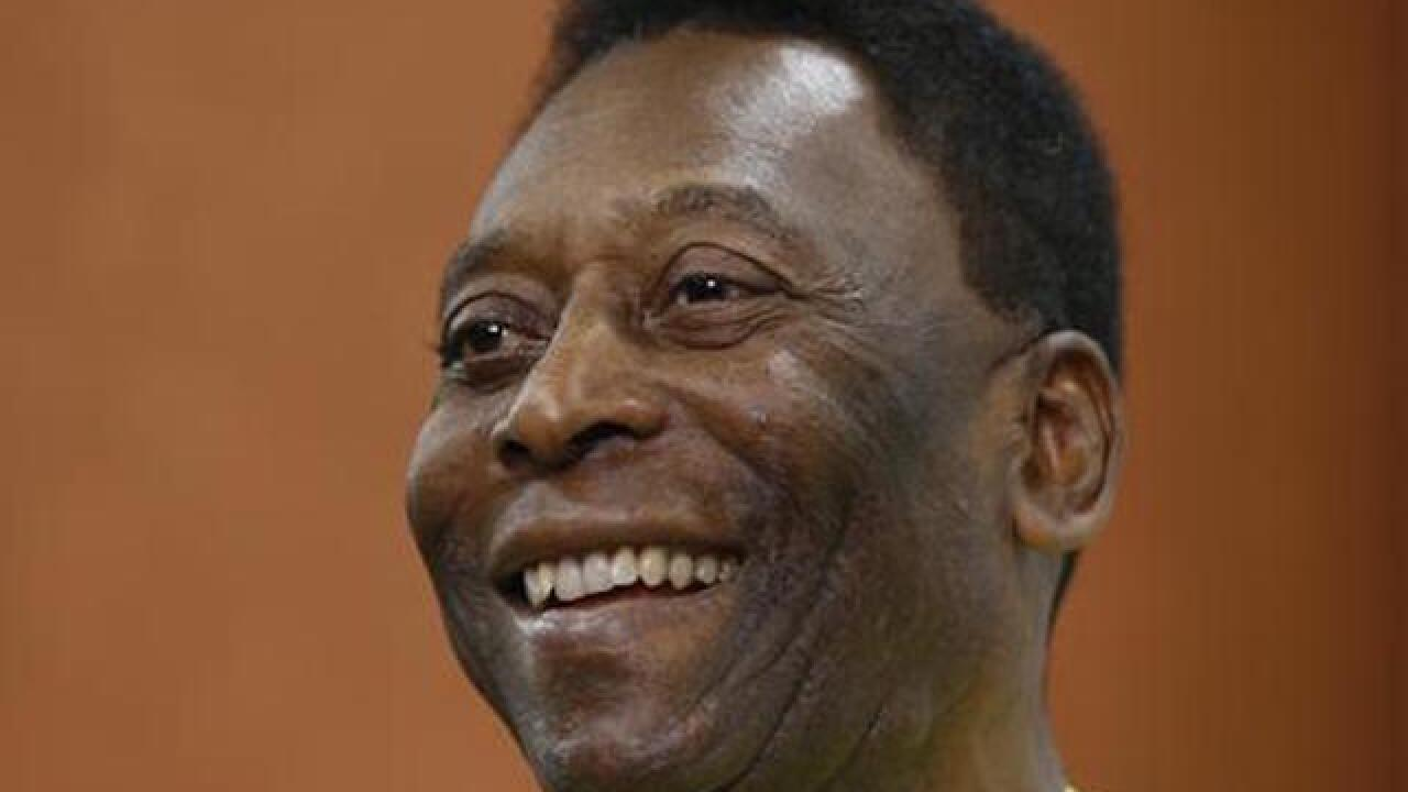 Soccer great Pele will not participate in Rio Olympics opening ceremony