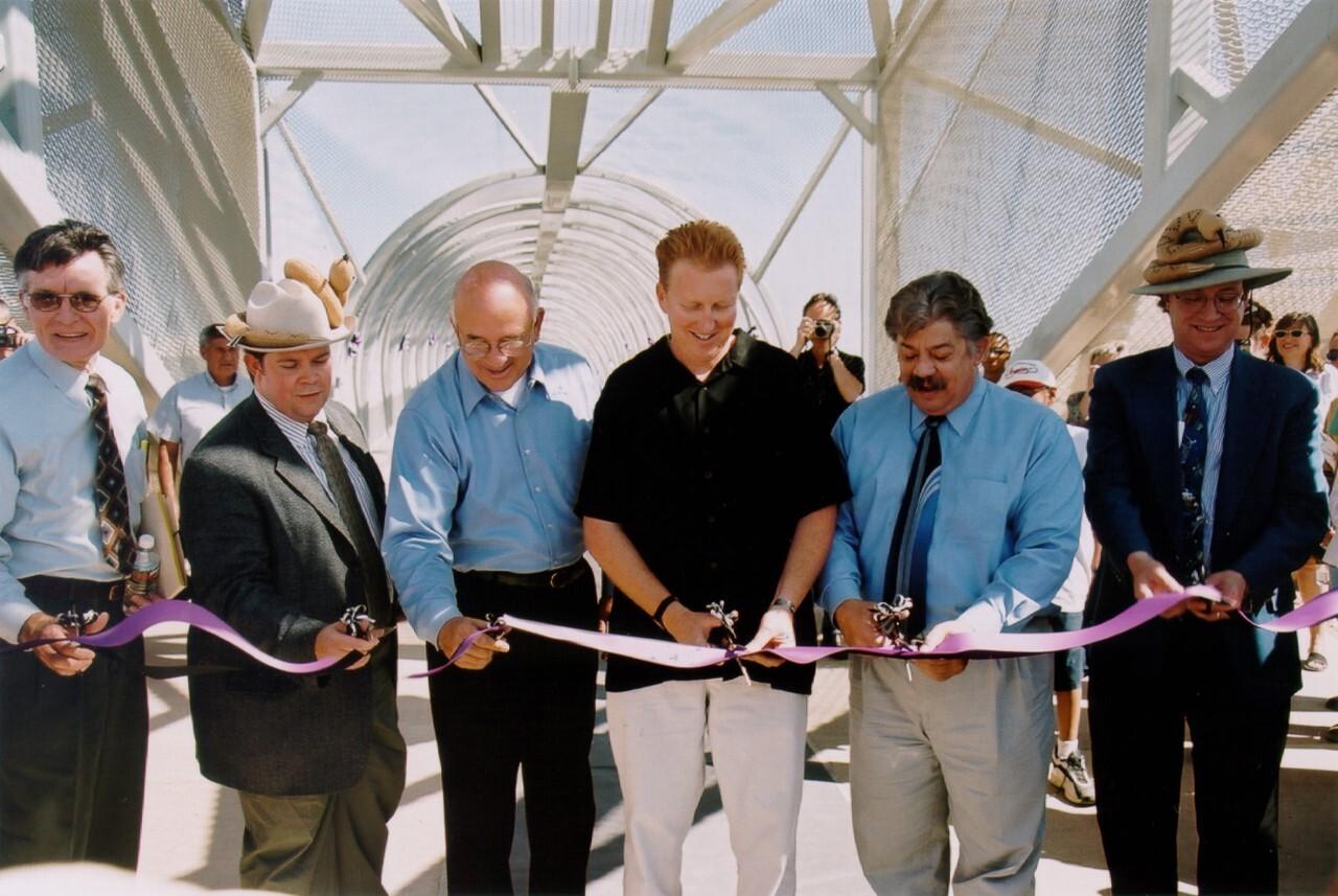 Opening of Rattlesnake Bridge