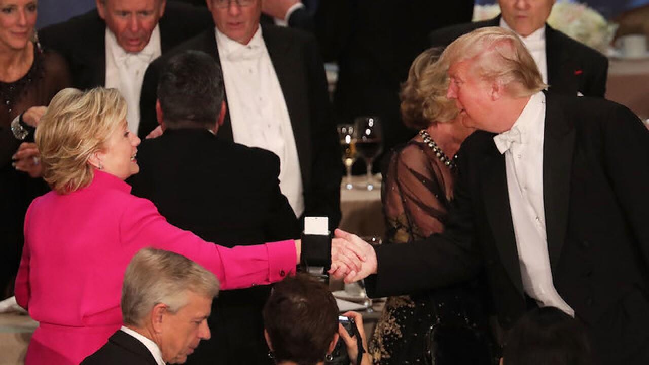 Trump, Clinton roast turns bitter