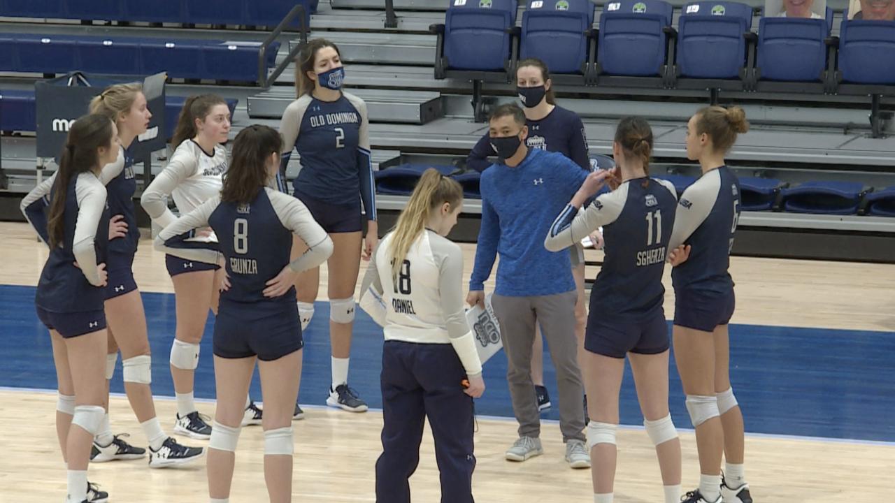 ODU volleyball