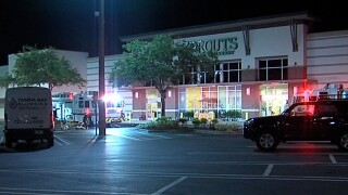 Workers operating gas powered saws overcome by CO gas at Sprouts Farmers Market in Palm Harbor