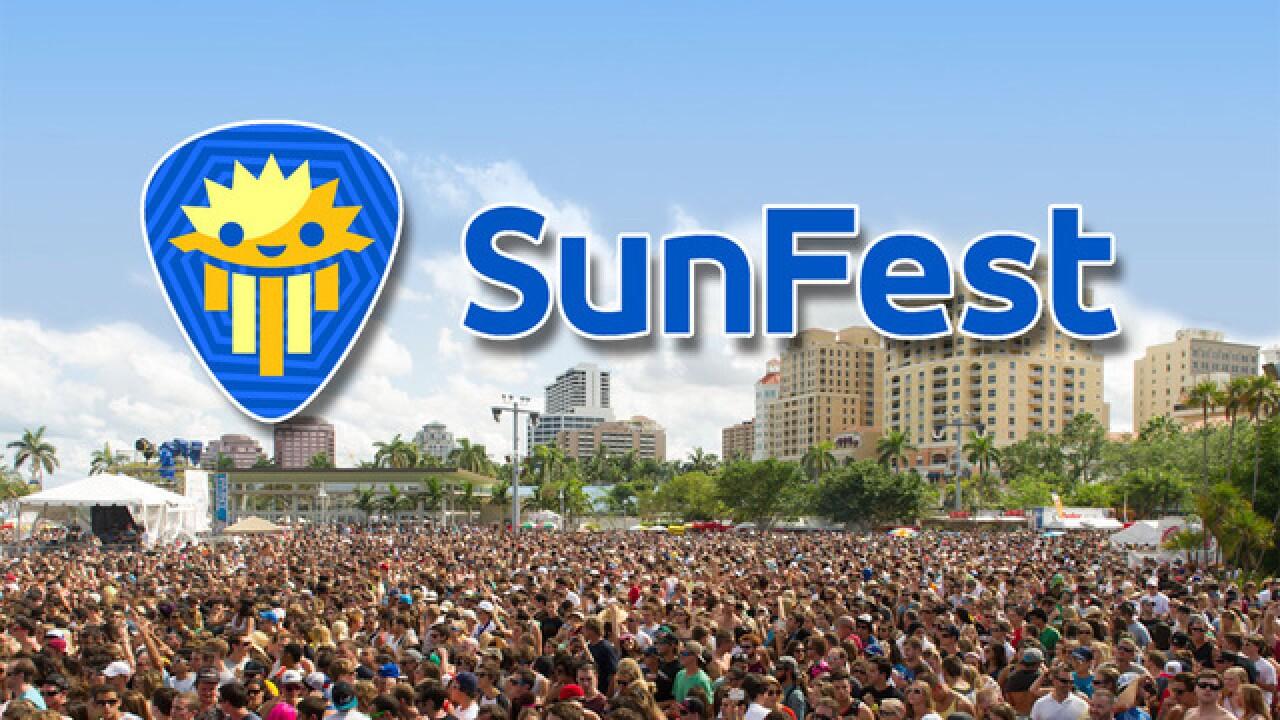 SunFest announces changes for 2018