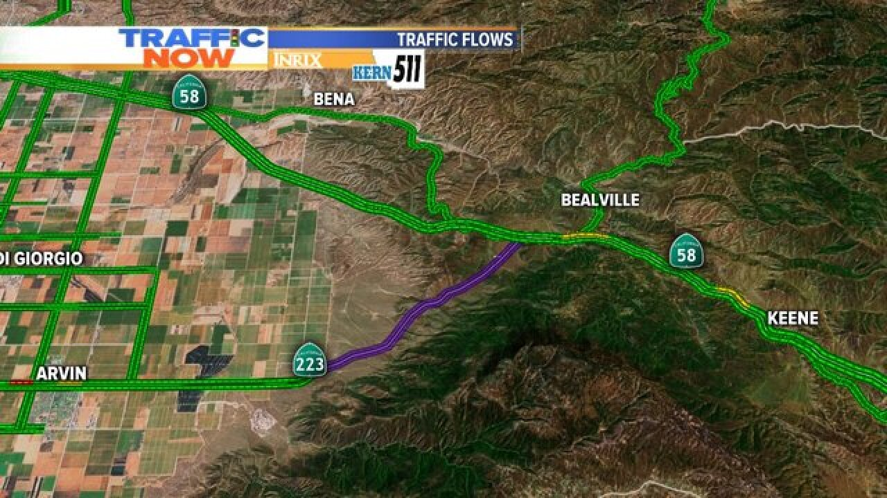 Hwy. 223 from Hwy. 58 reopens after being closed due to a mudslide Kern County Map Of Hwy on map of hwy 66, map of hwy 3, map of hwy 57, map of hwy 2, map of hwy 60, map of hwy 33, map of hwy 21, map of hwy 4, map of hwy 89, map of hwy 10,