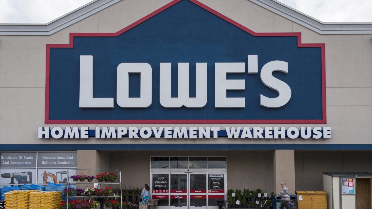 Lowe's is offering free curbside trick-or-treating