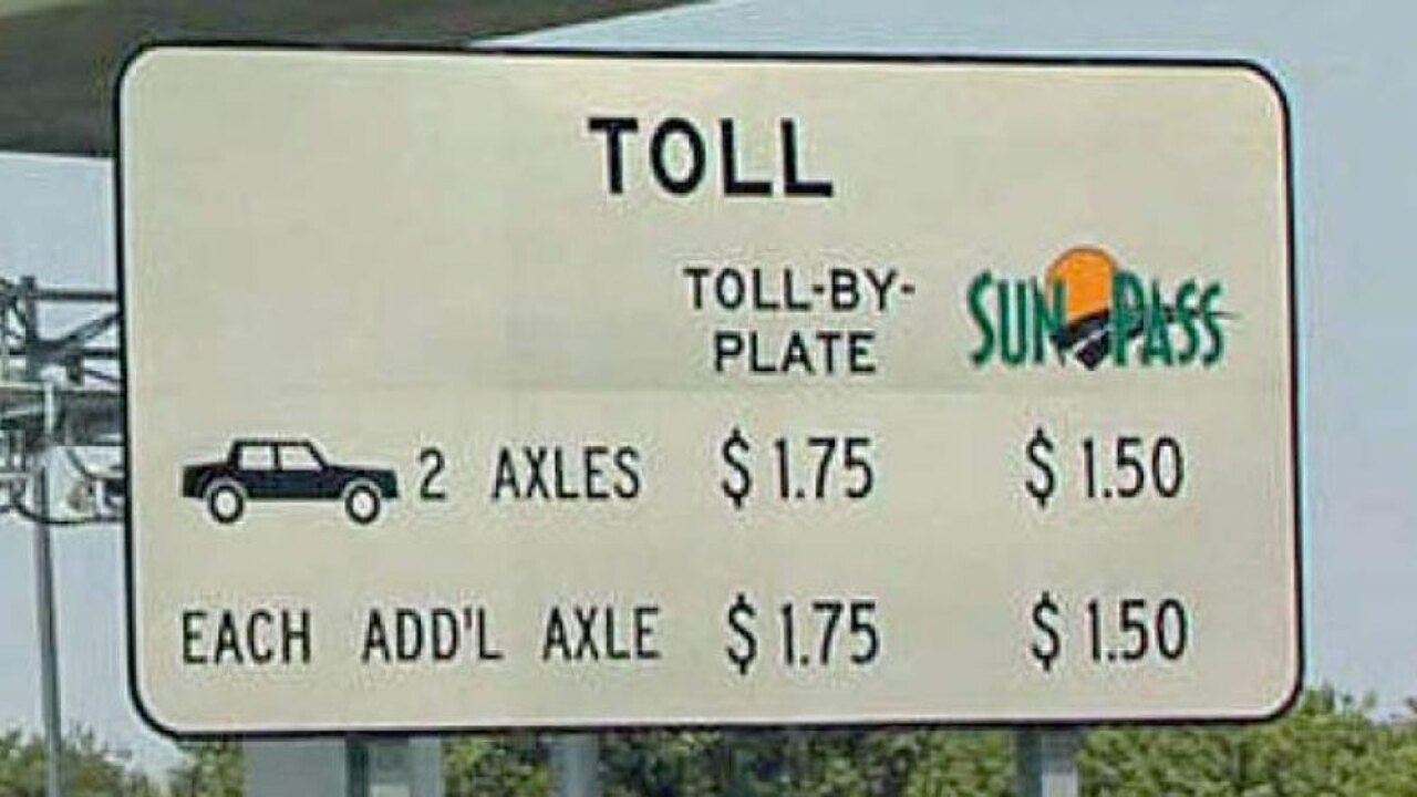 Florida Toll By Plate >> Gov Desantis Signs Bill For 3 Major Florida Toll Highways
