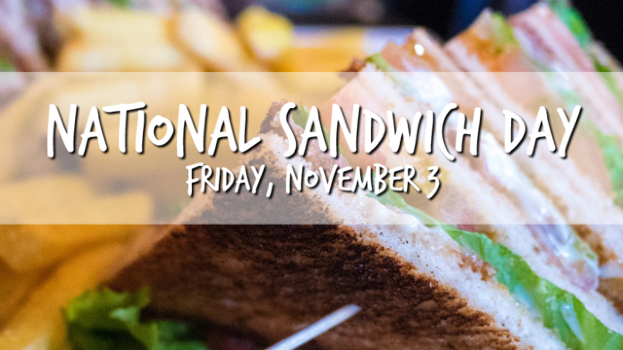 National Sandwich Day freebies and deals throughout Tampa Bay Area