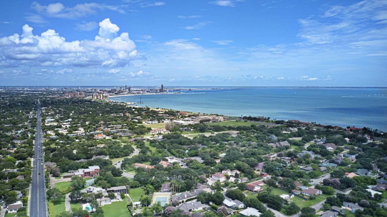 Beautiful sunny day in Corpus Christi - Photo By: FB Coastal Bend Weather Watcher Ian Cummings
