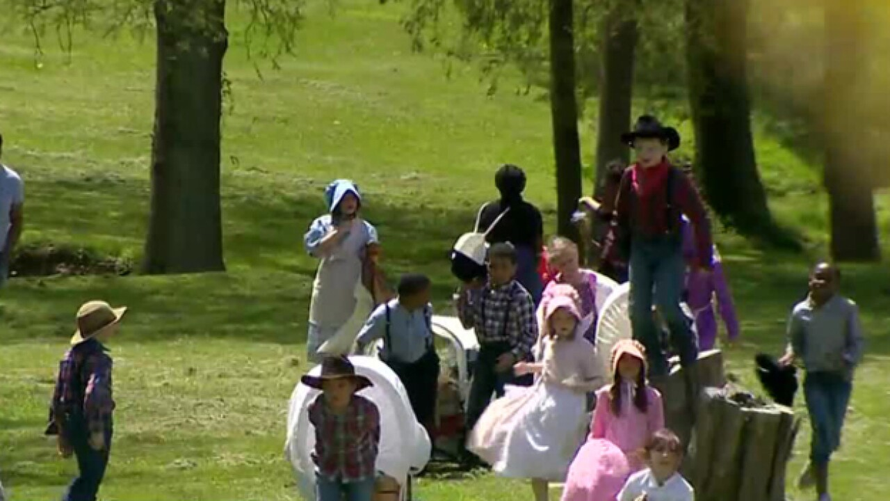 School Patrol: Oregon Trail Comes To Life For Students