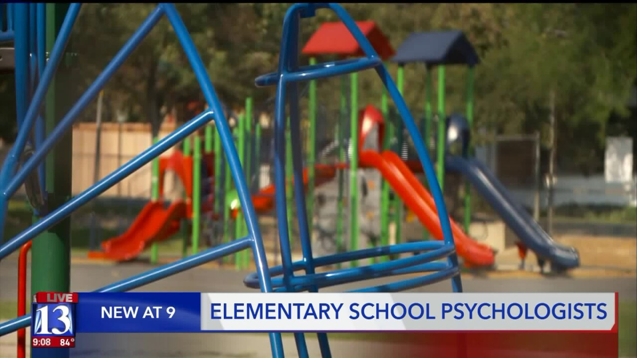West Jordan School District rolls out psychologists at elementary schools to bolster mentalhealth