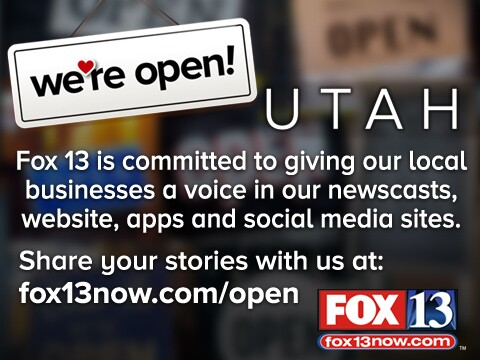We're Open Utah - 480x360