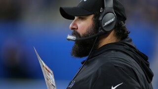 Lions coach Matt Patricia plans to keep showing up to work
