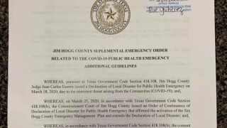 Jim Hogg County mandates masks to be worn in businesses
