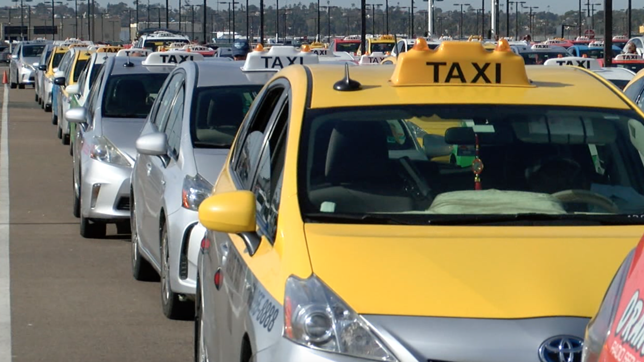 Cab San Diego >> San Diego Cab Drivers Report Attacks Near Lindbergh Field