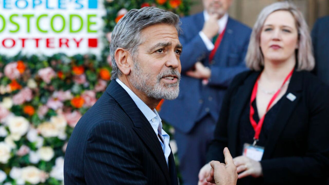 George Clooney shoots down rumors that he'll be Royal Baby's godfather