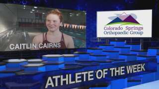 KOAA Athlete of the Week: Caitlin Cairns, St. Mary's Swimming