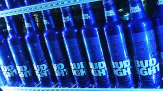 Browns Victory Fridges in Cleveland, filled with Bud Light, will unlock when team wins