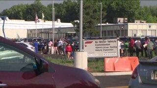 Long lines as NJ MVC agencies reopen July 7