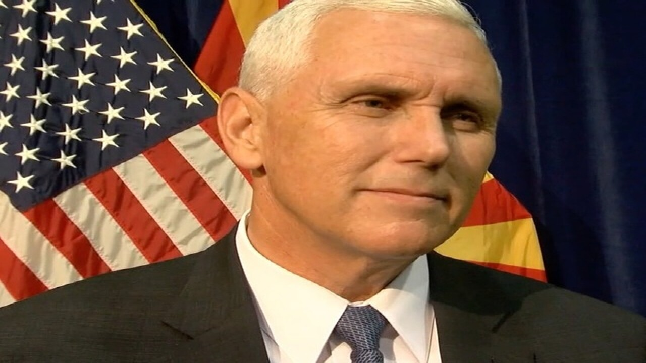 VP nominee Pence makes campaign stop in PHX