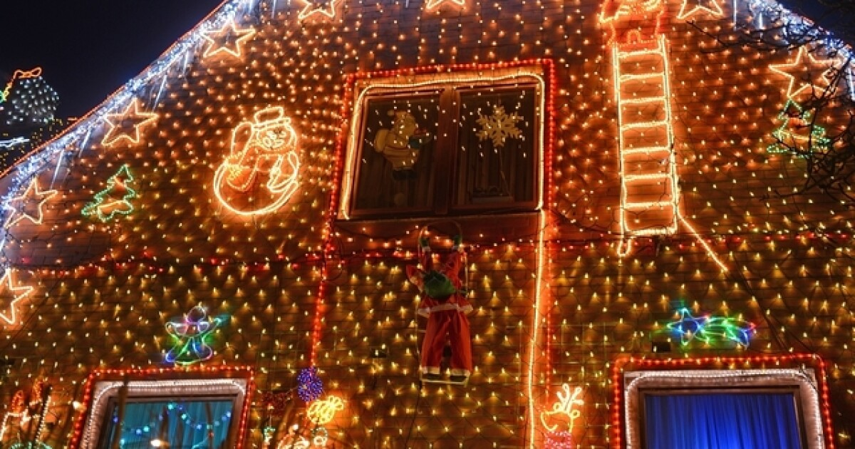 - When Is 'too Early' To Put Up The Christmas Lights And Decorations?