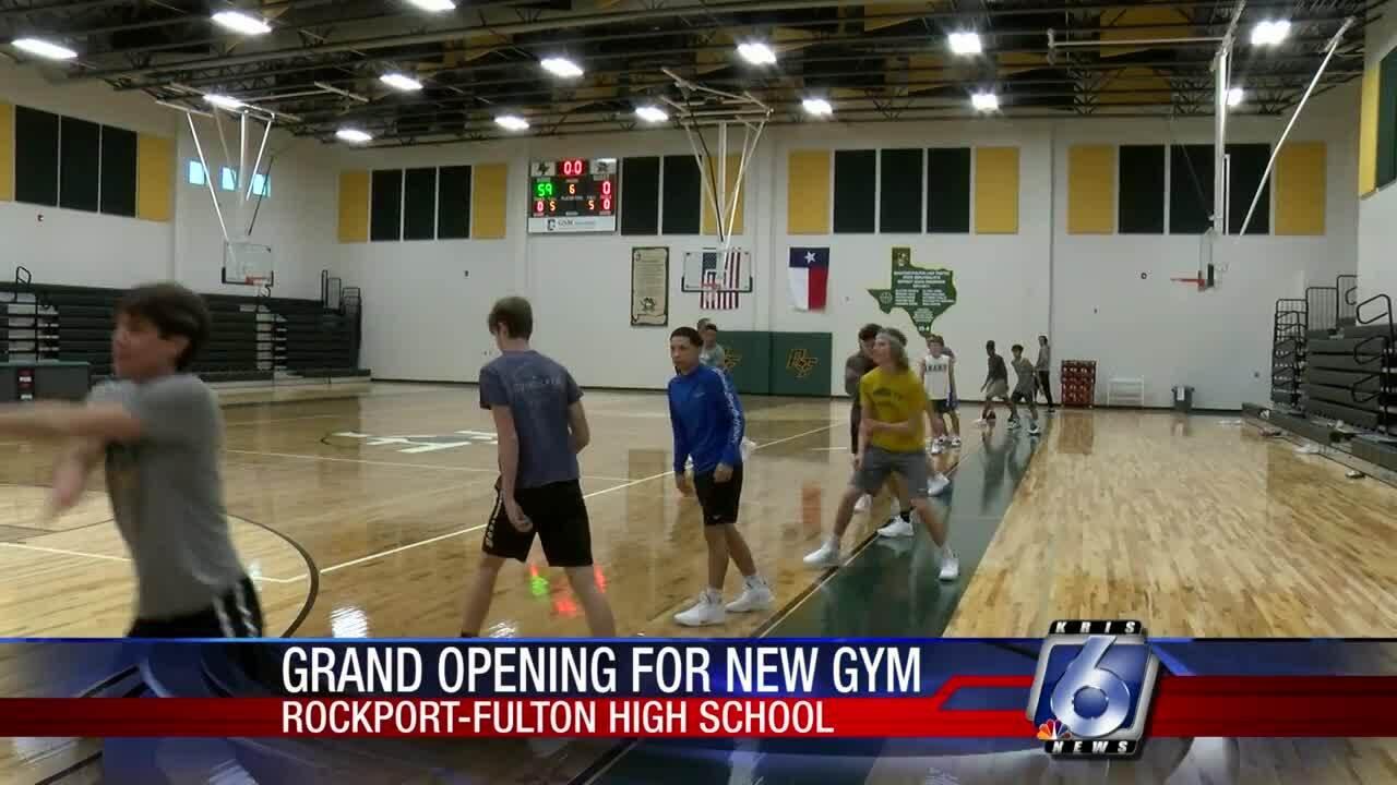 New Rockport-Fulton gym