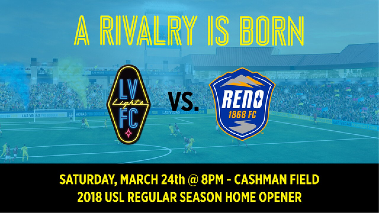 Las Vegas Lights home opener to be against Reno