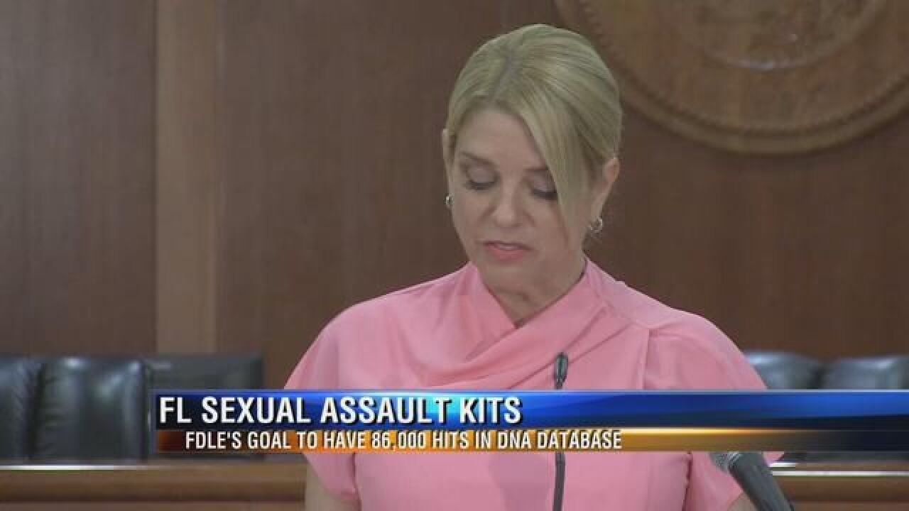 2,300 Rape Kits Tested, 6,300 More to Go