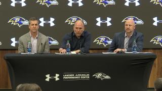 Ravens Pre Draft Press Conference
